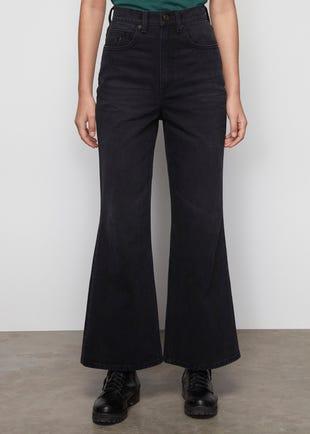 Black Wide Leg Jeans