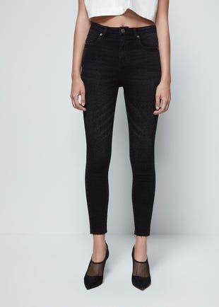 Leopard Super Skinny Jeans