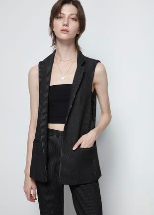 Pinstripe Waistcoat