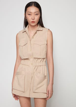 Utility Pocket Romper