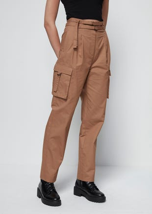 Strappy Cargo Trousers