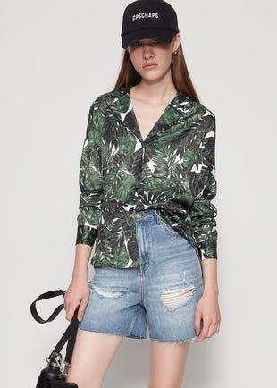 Tropical Button Up Shirt