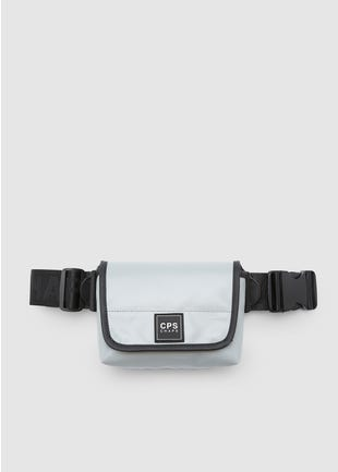 Small Grey Messenger Bag