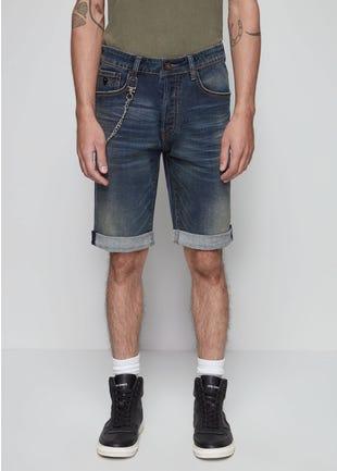 Long Blue Denim Jeans