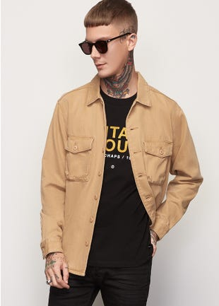Button Up Shacket