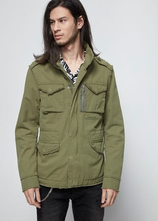 Distressed Parka