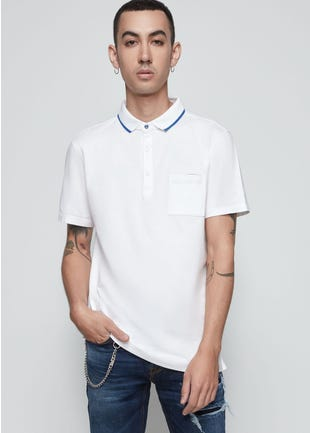 Chest Pocket Polo Shirt