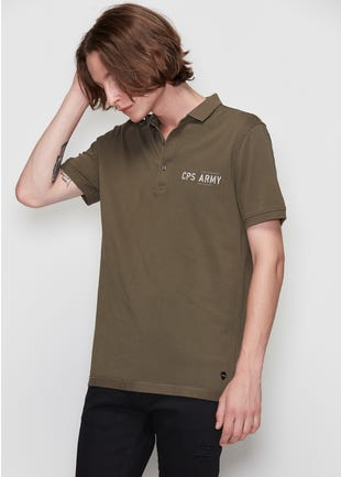 CPS Army Polo Shirt