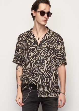 Zebra Resort Shirt