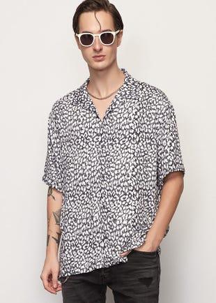 Leopard Resort Shirt