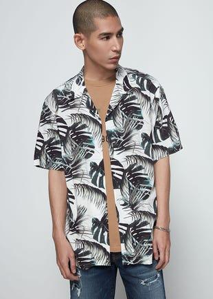 Oversized Palm Resort Shirt