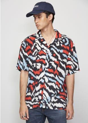 Tiger Stripe Resort Shirt