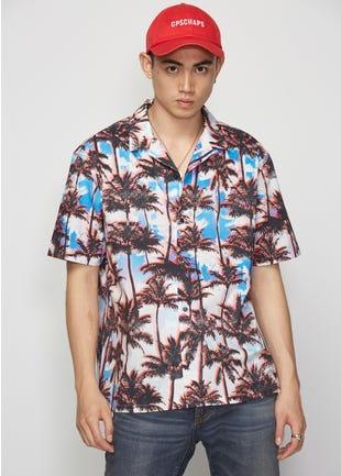 Graphic Palm Resort Shirt