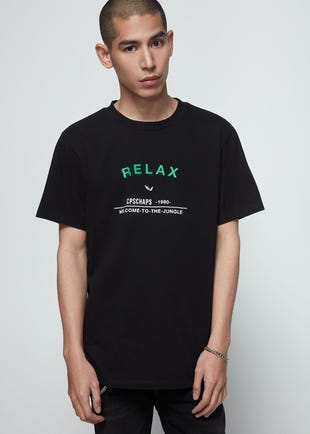 Relax Graphic Tee