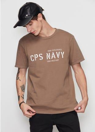 CPS Navy Tee