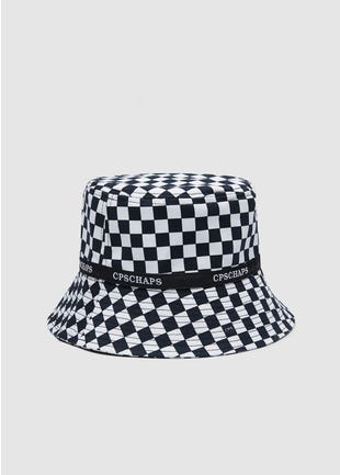 Checkered Bucket Hat