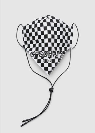 Checkerboard Bandana Mask