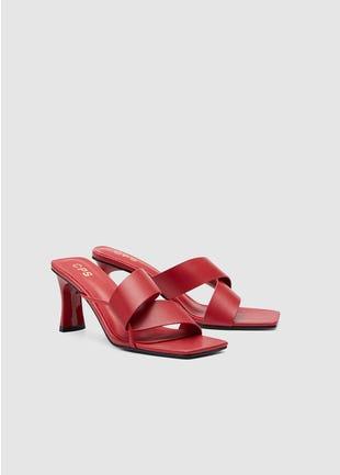 Spiral Strap Sandals
