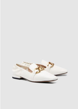 Gold Chain Shoes