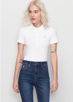 4-Button Polo Shirt