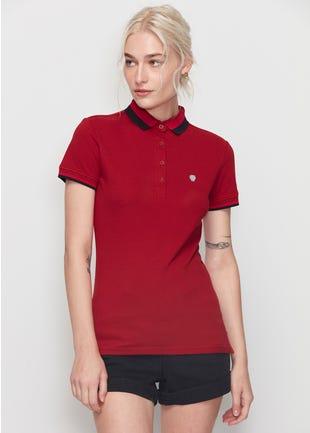 Color Detail Polo Shirt