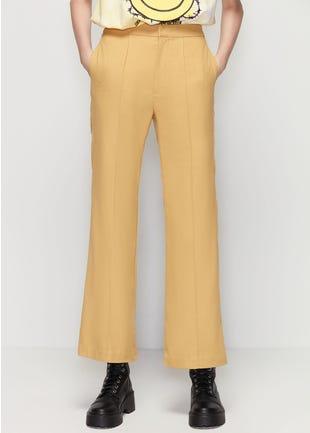 Yellow Flare Pants
