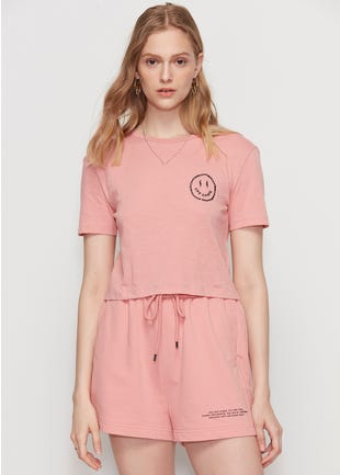 Barbed Wire Smiley Tee