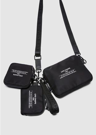 Three Bag Wristlet