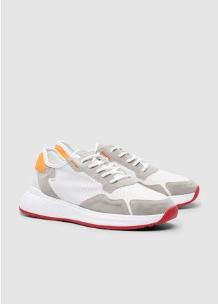 Tri-Tone Sneakers