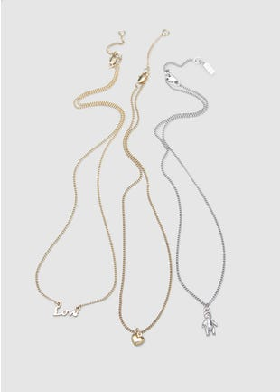 Three Necklace Set