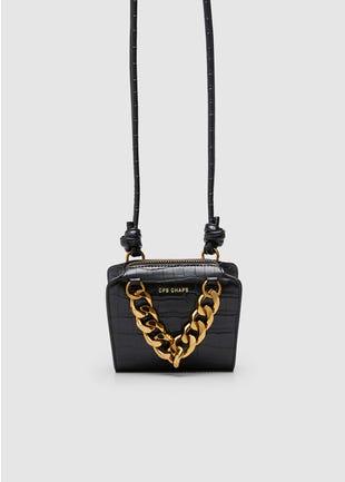 Gold Chain Crossbody Bag