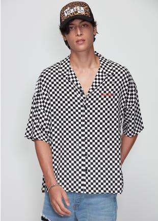 Checkered Resort Shirt