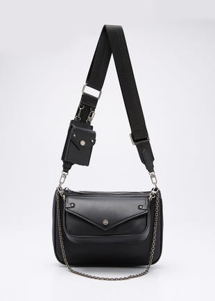 Crossbody Bag with Mini Pouch