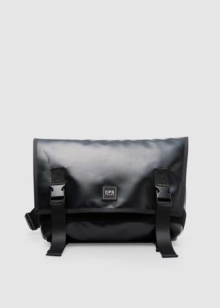 Black Twin Strap Bag