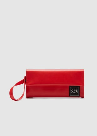 Long Red Wallet