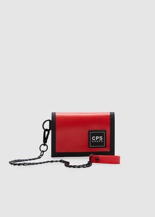Red Chain Wallet