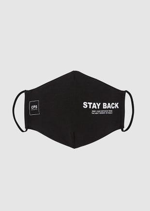 """""""Stay Back"""" Face Mask"""