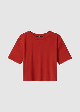 Short Sleeve Crop T-Shirt
